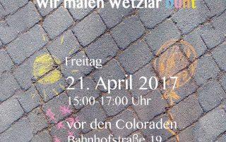 Wir malen Wetzlar bunt am 21.04.2017