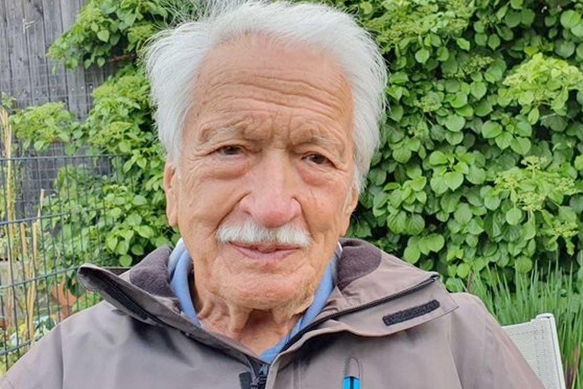 Ernst Grube Zeitzeugengespräch